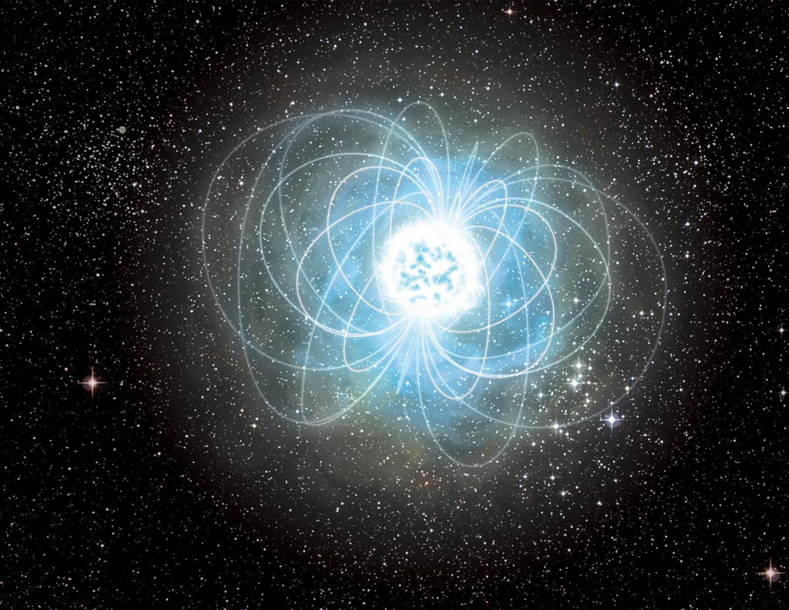 Starquake Hints in Magnetar 'Storm'   NASA